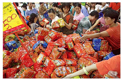 Čína trh